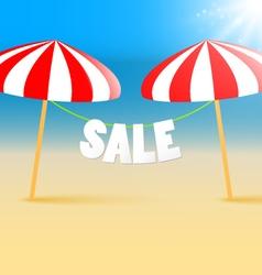sale marketing background vector image