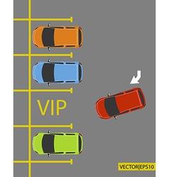 Vip parking vector