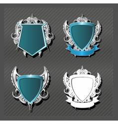 Emblems series knightly vector