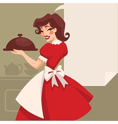 Retro cooking vector