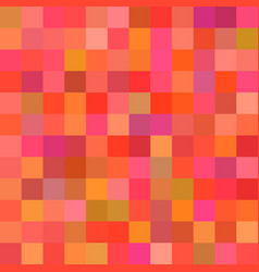 Geometric abstract square mosaic background - vector