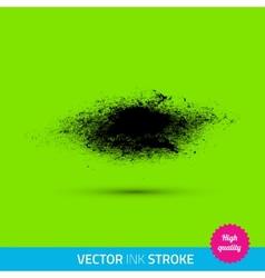 Paint brush ink stroke paint splash vector