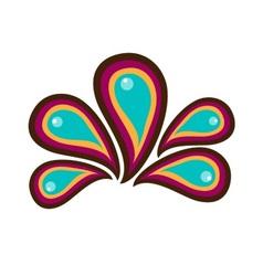 Paisley clipart logo vector