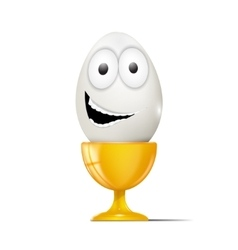 Cartoon egg vector