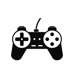Video game controller icon vector