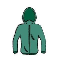 Fashion winter clothes vector