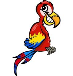 Macaw clip art cartoon vector
