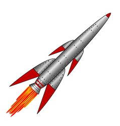 Rocket icon vector