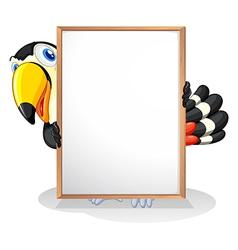 A tucan vector image