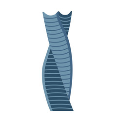business tower isolated icon vector image
