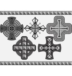 cross2 vector image vector image