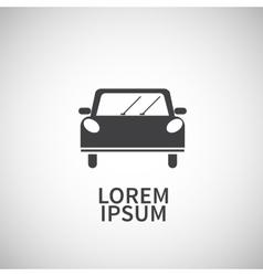 Icon flat element design car vector