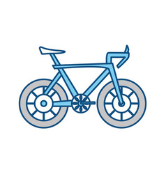 Isolatedcute bicyle vector