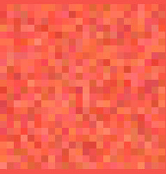 Pixel square tiled mosaic background - vector