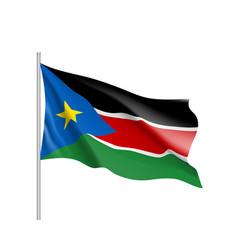 South sudan flag vector