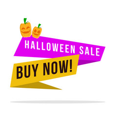 Big sale halloween style collection vector