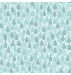Seamless background with rain drops vector