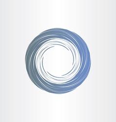 dark blue tornado abstract background vector image