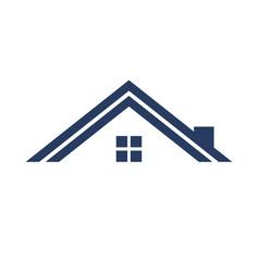 minimalist roof simple graphic vector image