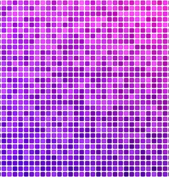 Pink and purple pixel mosaic background vector