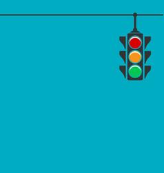 Traffic light icon vector
