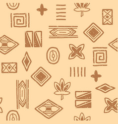 african-pattern-04 vector image