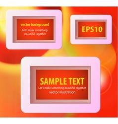 Display text box vector image vector image