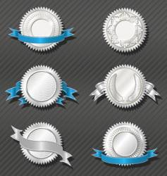 emblems series medallion vector image