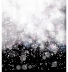 Abstract black soft bokeh background vector