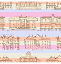 House pattern striped vector image