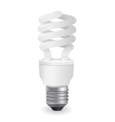 vector light bulbs icon vector image vector image