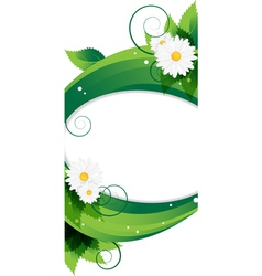 Wildflowers background vector