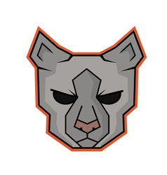 Cat professional logo vector