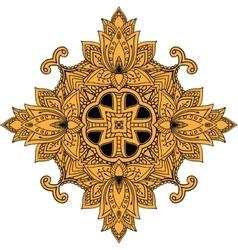 Elegant Ornaments Lace Mandala vector image vector image