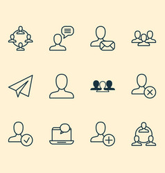 Social icons set collection of web profile unity vector