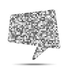 bubble pixel texture vector image