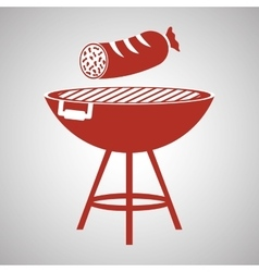 Grill design bbq and menu concept editable vector
