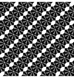 Design seamless monochrome lace decorative pattern vector image vector image