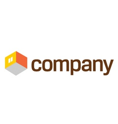 Home furniture company logo vector