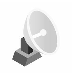 Parabolic aereal 3d isometric icon vector