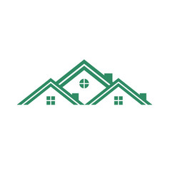 real estate group housing vector image