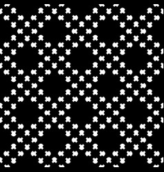 Seamless pattern square geometric texture vector