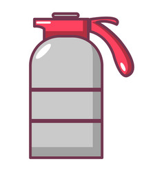Sprayer container icon cartoon style vector