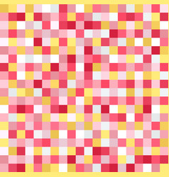 square pattern pixel seamless background vector image vector image