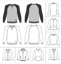Street fashion clothing 19 vector