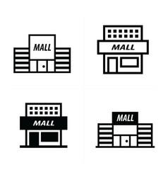 supermarket icon design vector image