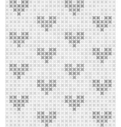 Gray pattern with hearts seamless background vector