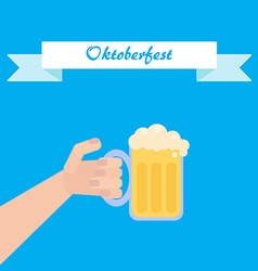 Octoberfest poster vector