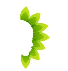 Alternative medicine or therapy logo vector