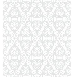 White geometric texture in art deco style vector